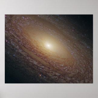 Galáxia espiral de NGC 2841 Pôster