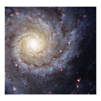 Galáxia espiral M74 (Hubble) Impressão De Foto