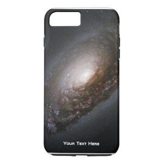 Galáxia espiral personalizada capa iPhone 7 plus