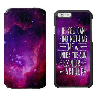 Galáxia/nebulosa do espaço com palavras da