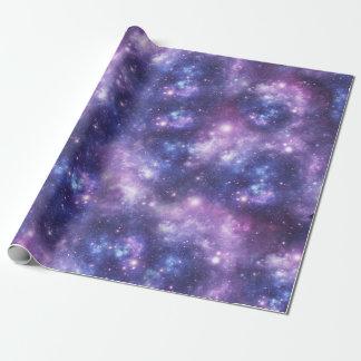 Galáxia Papel De Presente