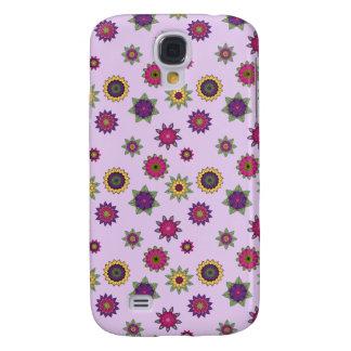 Galáxia roxa S4 de Samsung da capa de telefone da