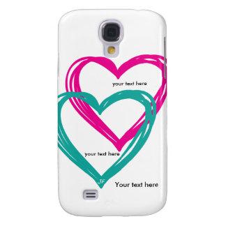 """""""galáxia S4 de Samsung do coração 2"""", mal lá Galaxy S4 Covers"""