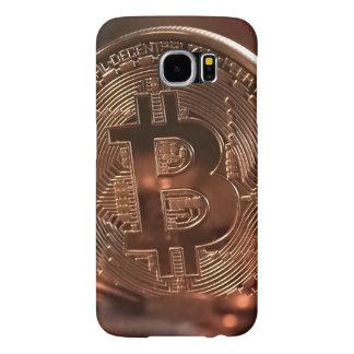 Galáxia S6 de Bitcoin Samsung, capa de telefone