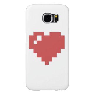 galáxia s6 de Samsung do coração Capas Samsung Galaxy S6