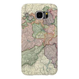 Galáxia S6 de Samsung do mapa da suiça mal lá Capas Samsung Galaxy S6