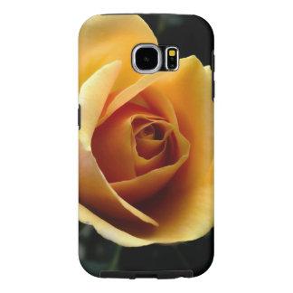 Galáxia S6 de Samsung, resistente - o ouro Capas Samsung Galaxy S6