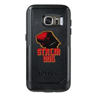 Galáxia S7 de Samsung, cão de stalin