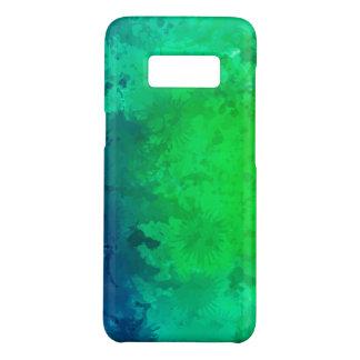 Galáxia verde S8 de Samsung, mal lá capa de