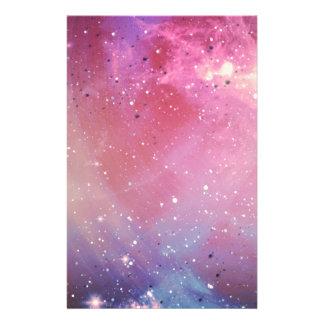 Galáxia vermelha papelaria
