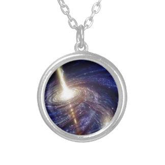 galáxias colar personalizado