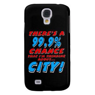 Galaxy S4 Case 99,9% CIDADE (branca)