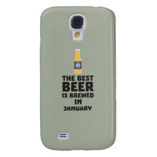 Galaxy S4 Case A melhor cerveja é em maio Z96o7 fabricado cerveja