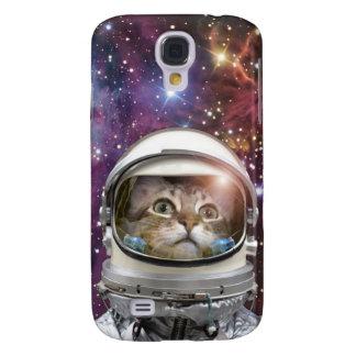 Galaxy S4 Case Astronauta do gato - gato louco - gato