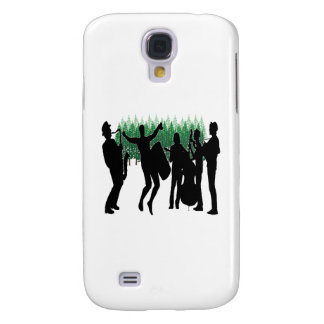 Galaxy S4 Case Azuis verdes