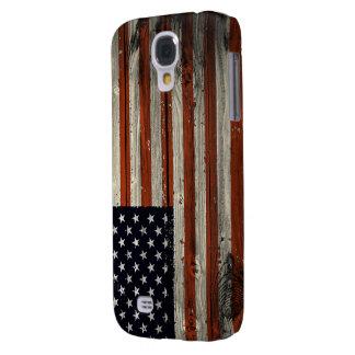 Galaxy S4 Case Caixa da galáxia S4 de Samsung com a bandeira de
