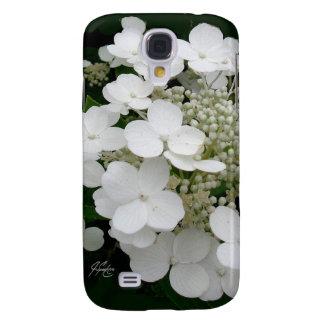 Galaxy S4 Case Caixa floral branca da galáxia 4 de J Spoelstra