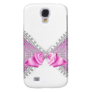 Galaxy S4 Case Caso feminino do brilho do jewell