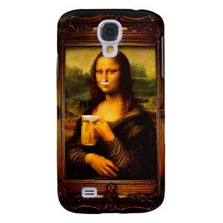 Galaxy S4 Case Cerveja de Mona lisa - de Mona lisa - lisa-cerveja