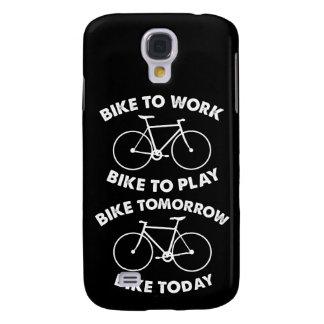 Galaxy S4 Case Da bicicleta ciclismo legal para sempre -