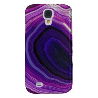 Galaxy S4 Case Falln rodou Geode roxo