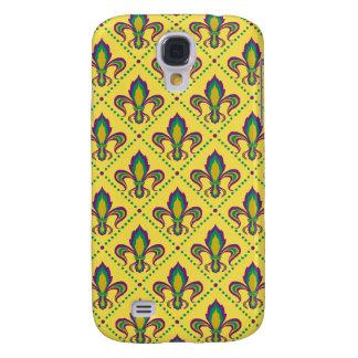 Galaxy S4 Case Flor de lis do carnaval