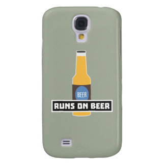 Galaxy S4 Case Funcionamentos na cerveja Z7ta2
