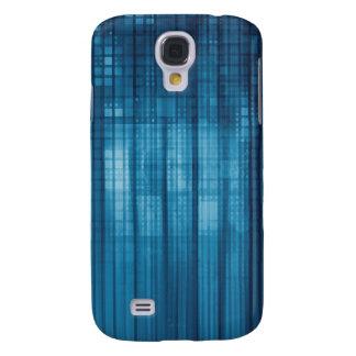 Galaxy S4 Case Fundo do mosaico da tecnologia como uma arte do