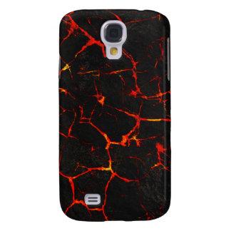 Galaxy S4 Case Lava quente de Falln
