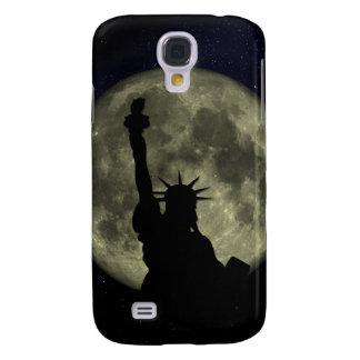 Galaxy S4 Case Lua e senhora Liberdade