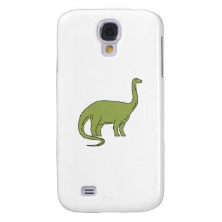 Galaxy S4 Case Mono linha do Brontosaurus