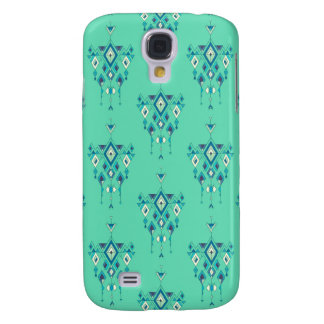 Galaxy S4 Case Ornamento asteca tribal étnico do vintage