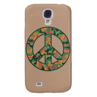 Galaxy S4 Case Paz colorida de Camo