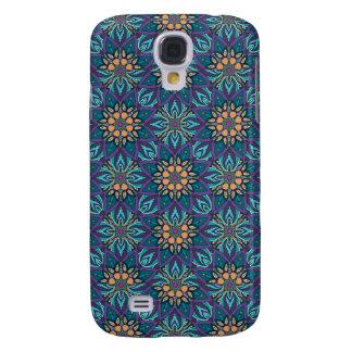 Galaxy S4 Case Teste padrão floral do abstrato da mandala