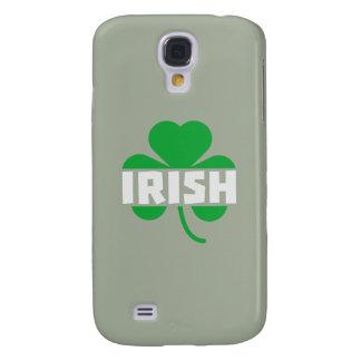 Galaxy S4 Case Trevo irlandês Z2n9r do cloverleaf