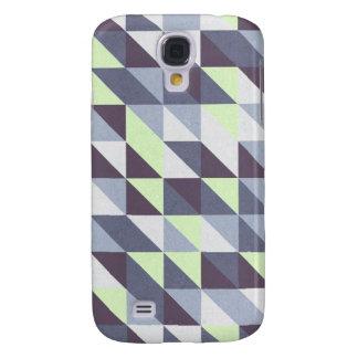 Galaxy S4 Case Triângulos azuis