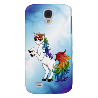 Galaxy S4 Case Unicórnio do arco-íris