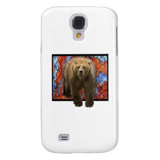 Galaxy S4 Case Urso abstrato