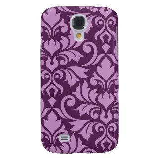 Galaxy S4 Cases Arte que do damasco do Flourish eu pico na ameixa