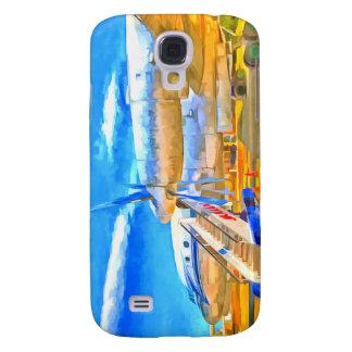 Galaxy S4 Cases Avião de passageiros do russo do pop art