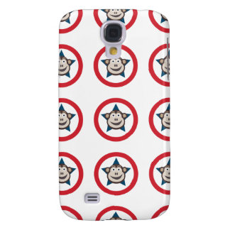 Galaxy S4 Cases Caixa super da galáxia S4 de Samsung do macaco
