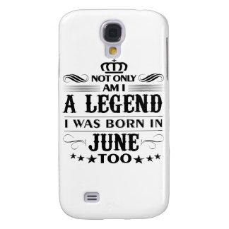 Galaxy S4 Cases Camiseta das legendas do mês de junho