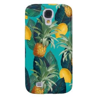 Galaxy S4 Cases cerceta do pineaple e dos limões
