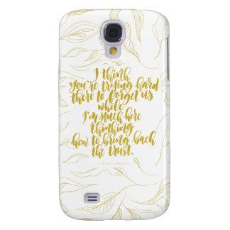Galaxy S4 Cases Citações do amor: Duro de tentativa lá para
