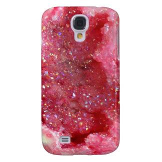 Galaxy S4 Cases Cristais cor-de-rosa do país das fadas de Falln