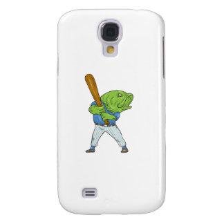 Galaxy S4 Cases Desenhos animados da batedura do jogador de
