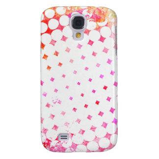 Galaxy S4 Cases Design de explosão cor-de-rosa da banda desenhada