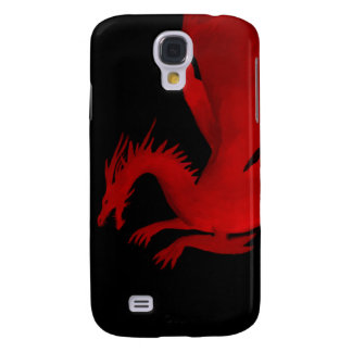 Galaxy S4 Cases Dragão vermelho