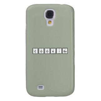 Galaxy S4 Cases Elemento químico Z57c7 dos biscoitos