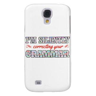 Galaxy S4 Cases Eu estou corrigindo silenciosamente sua gramática